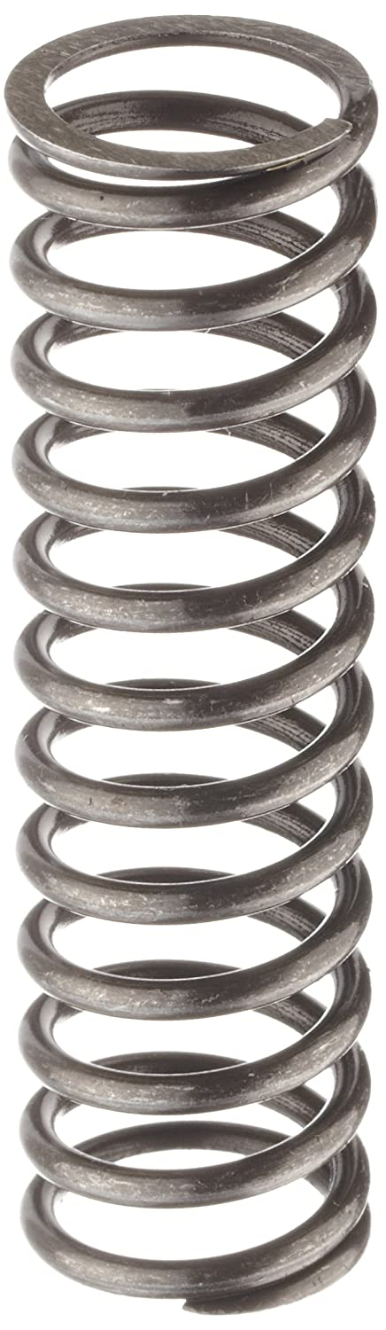 Music Wire Compression Spring, Steel, Inch, 0.85