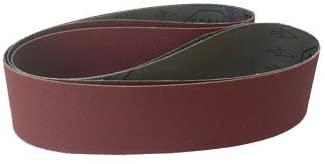 Sanding Belts 2 X 42 Aluminum Oxide Cloth Sander Belts, 18 Pack (320 Grit)