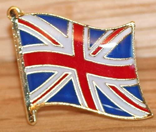Union Jack Flag Metal Badge