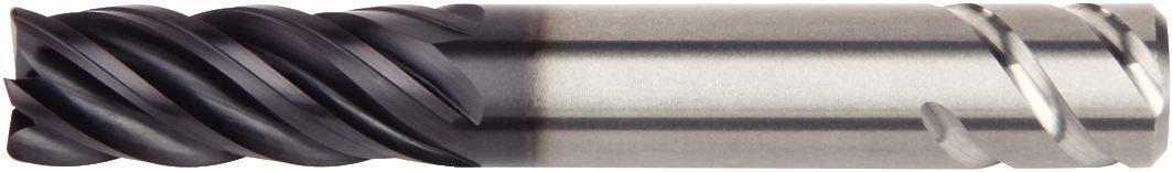 WIDIA Hanita 5V1E10004BT VariMill II ER 5V0E HP Finishing End Mill, 0.03