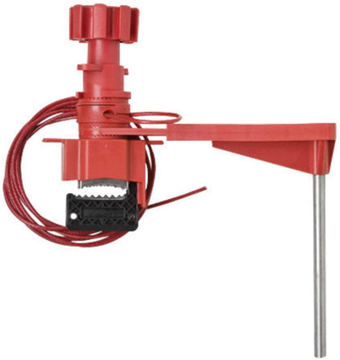 Brady Red Reinforced Brass/Fiberglass/Nylon/Stainless Steel Lockout