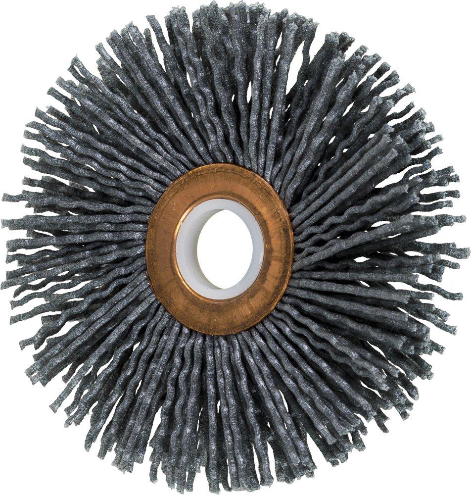 PFERD 83793 Small Diameter Copper Centre Abrasive Filament Wheel Brush, Silicon Carbide Grain (SiC), 3