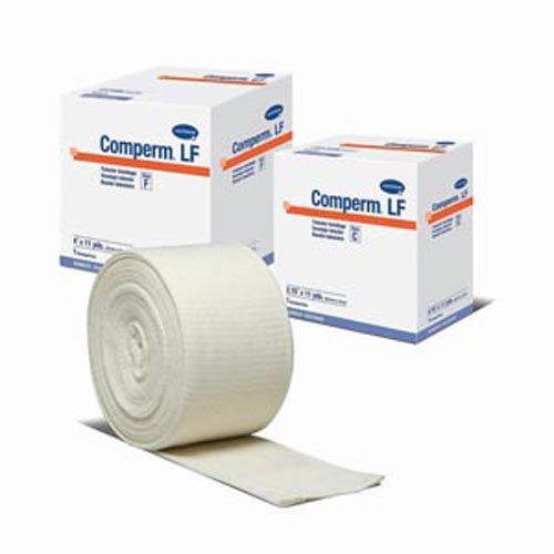 Hartmann 83040000 Comperm Tubular Bandage, Size D, 33' Length, 3