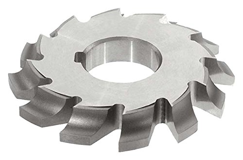 KEO Milling 81442 Left-Hand Cutting Corner-Rounding Milling Cutter,