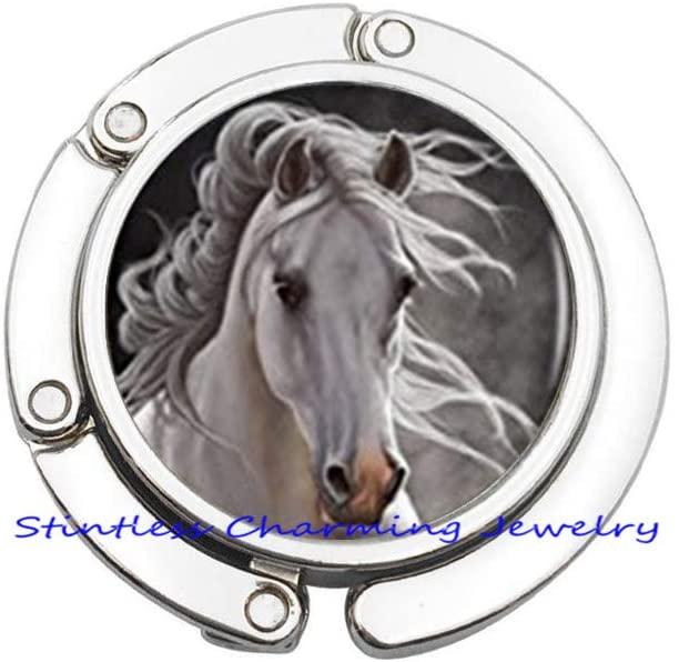 Horse Purse Hook Horse Jewelry Purse Hook Wearable Art Bag Hook Charm Horse Lover Horse Purse Hook Horse Gift-JV360