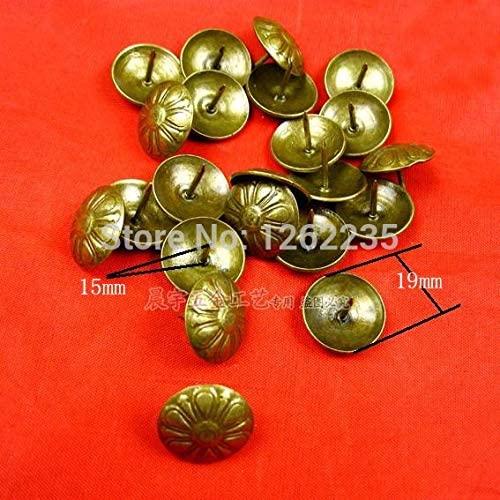 Ochoos 1915MM Imitation Gold Bubble Nails Quartet red Bronze Sofa Nail Decorative Nails Triangle Nails Wholesale