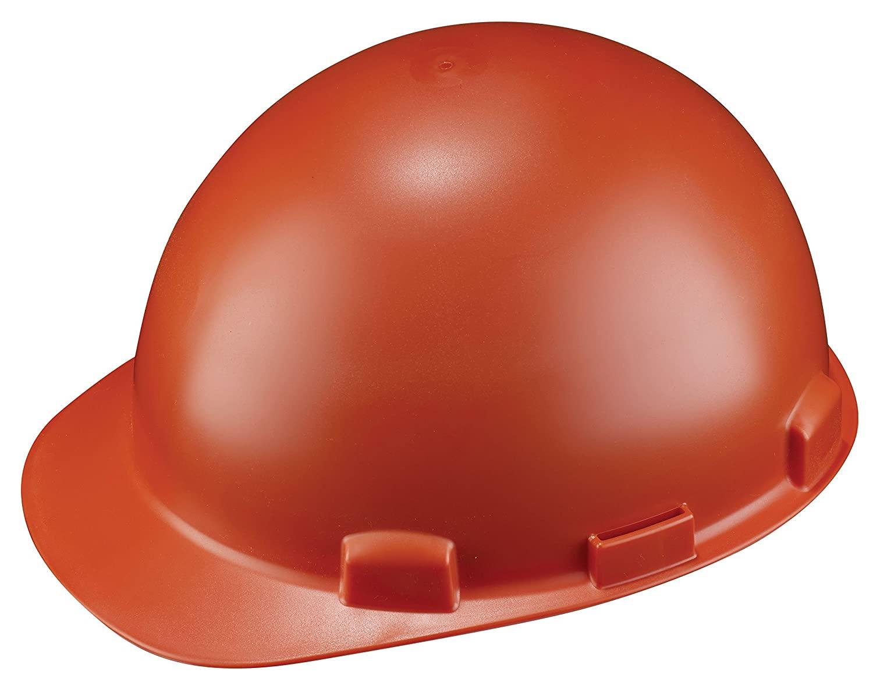 Dynamic Safety HP842R/03 Stromboli Hard Hat with 4-Point Nylon Suspension and Sure-Lock Ratchet Adjustment, ANSI Type II, One Size, Orange