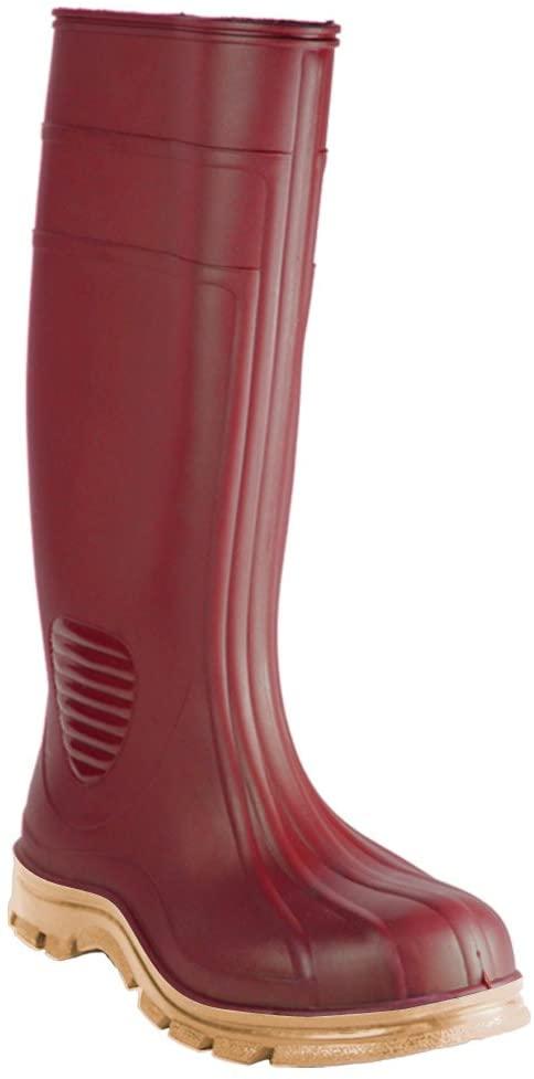 Heartland Footwear 70698-12 Rubber Boot, Brick Red