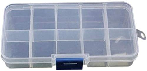 1PC 7Size Jewelry Plastic Home Tool Box for Tool Electronic Components Storage Box Combination Screw Finishing Storage Toolkit (Color : G174476a)