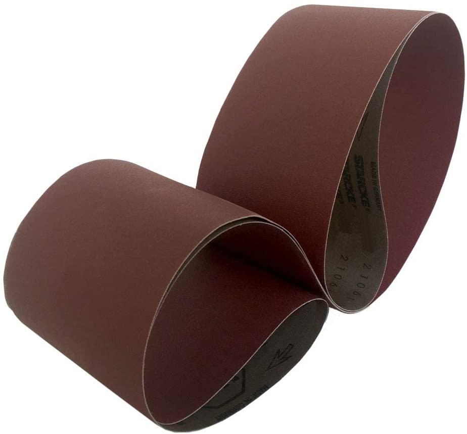 Sanding Belts 4 X 90 Cloth Aluminum Oxide Sander Belts (3 Pack, 40 Grit)