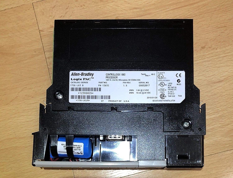 Allen-Bradley 1756-L63 SER.B, 1756-L63 B, CPU Module Controls