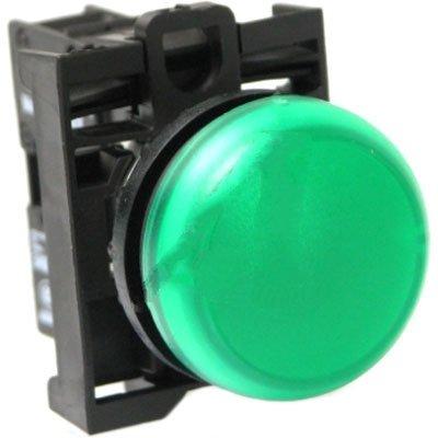 Eaton / Control Automation M22-L-G-230G Indicator Pnl-Mnt Green 85-264 VAC Flush
