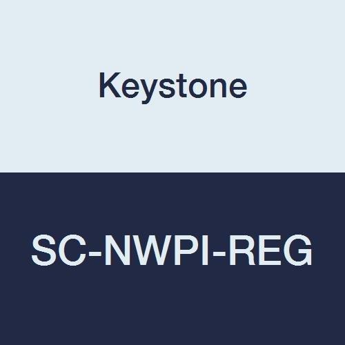 Keystone SC-NWPI-REG Laminated Polypropylene Shoe Cover, White (Pack of 200)