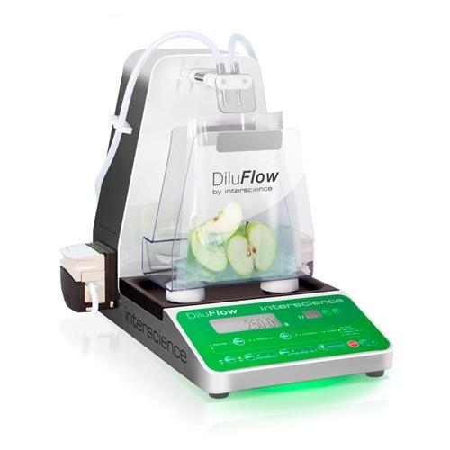 Interscience Laboratories 502 205 DiluFlow Pro Double Pump Gravimetric Dilutor, 5kg, 100-240V, 50/60Hz