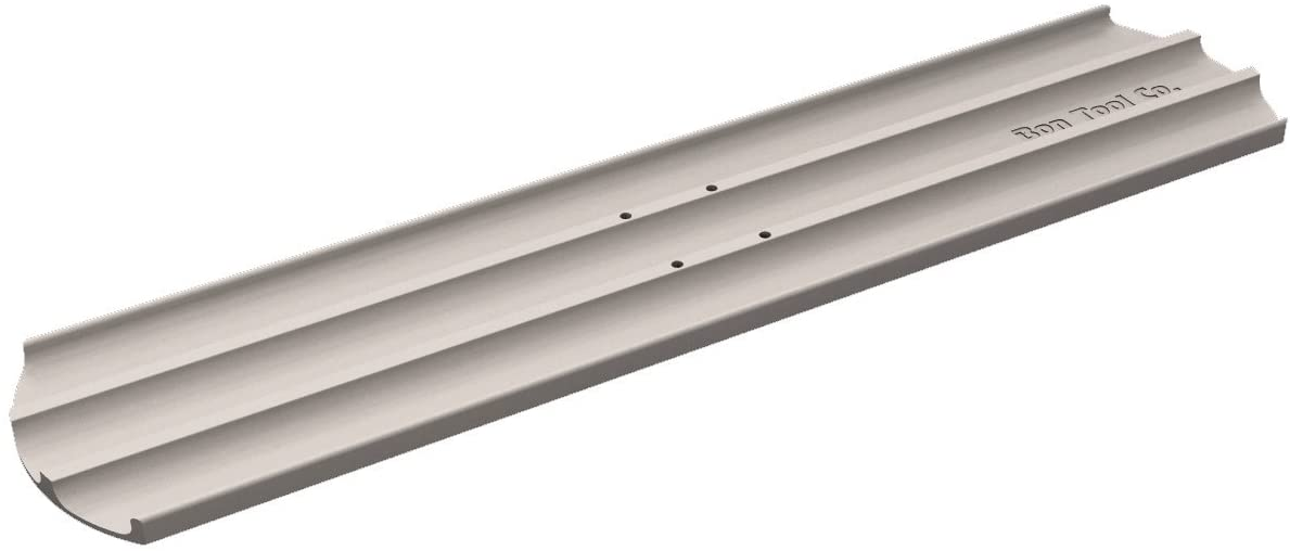 Bon 12-960 36-Inch by 8-Inch Round End Magnesium Concrete Bull Float