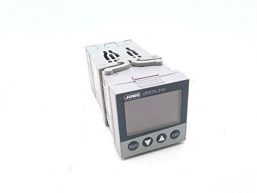 JUMO 703041/181-300-25/000 Relay, Temperature Controller, 110-240 VAC Supply Voltage, 4 Output Logic