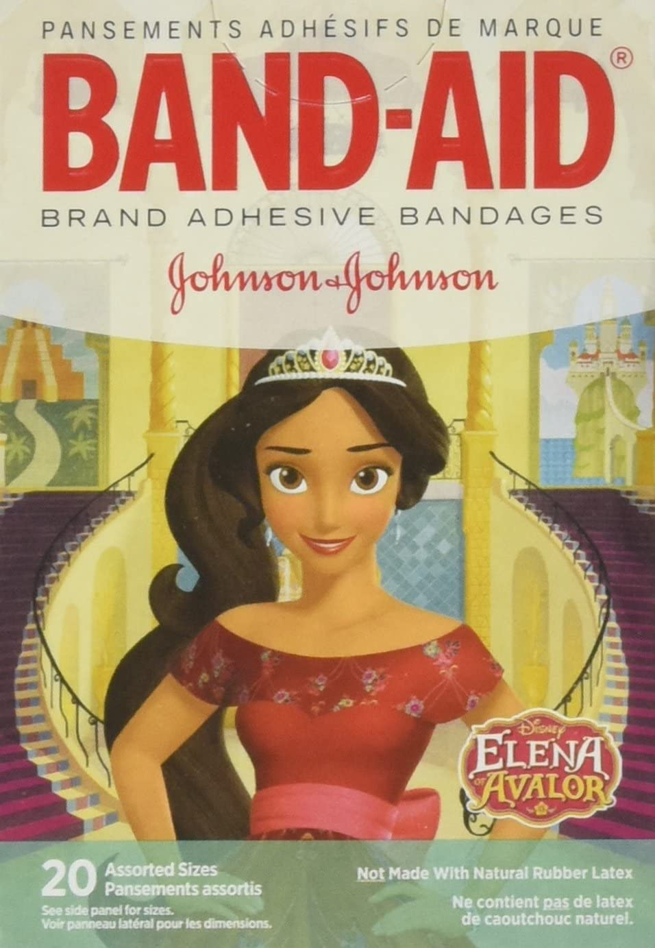 Band-Aid Adhesive Bandages Disney Elena of Avalor Assorted Sizes - 20 Ct