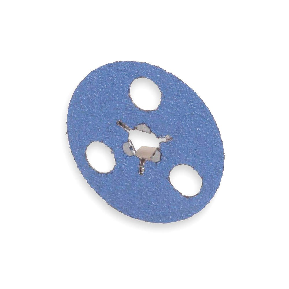 Quick Change Disc, ZircAlO, 5in, 24 Grit, TS