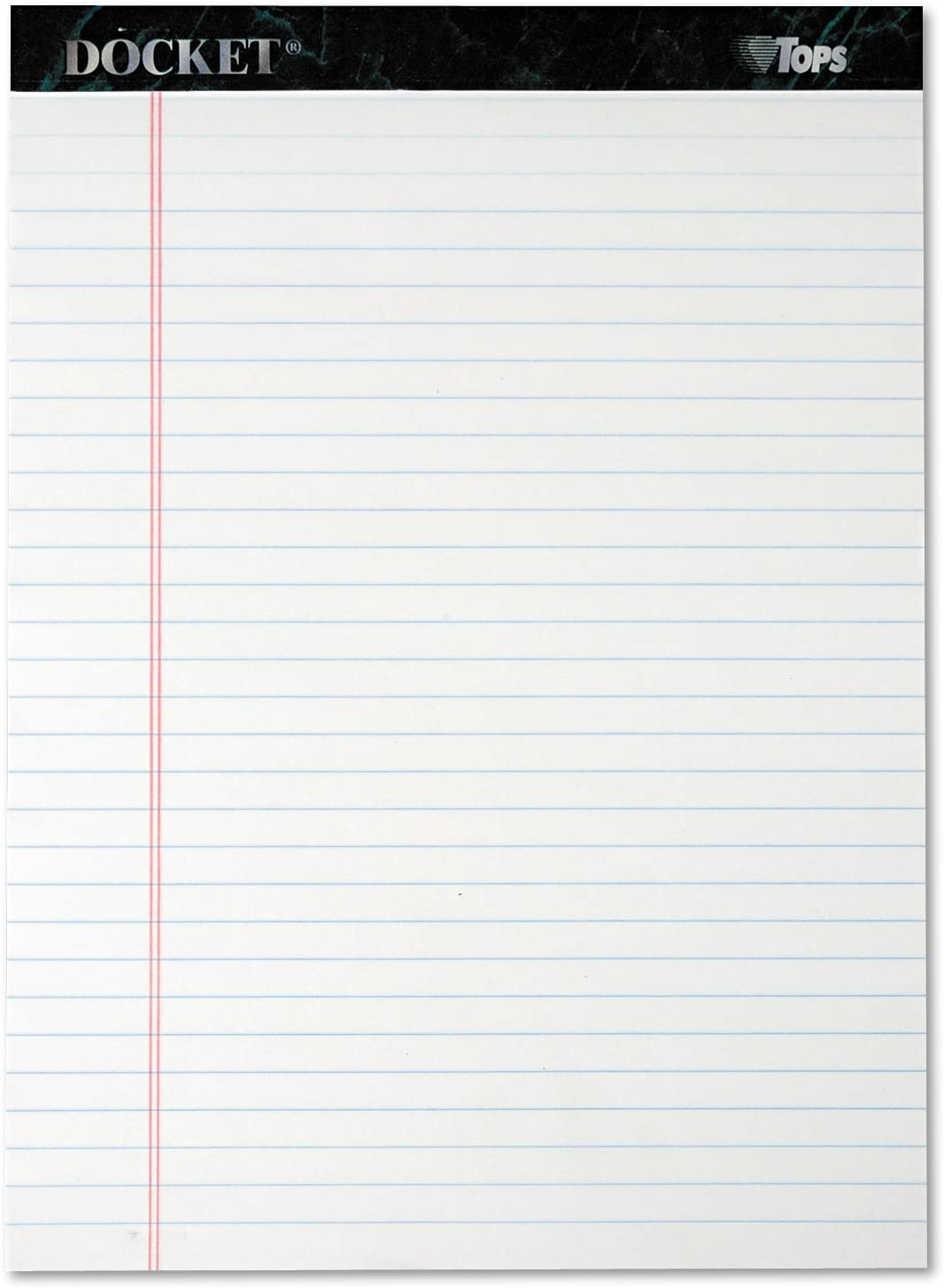 TOP63410 - Tops Docket Ruled Perforated Pads