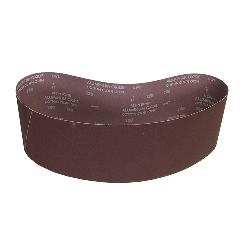 Sanding Belt, 6 In Wx48 In L, AO, 120GR