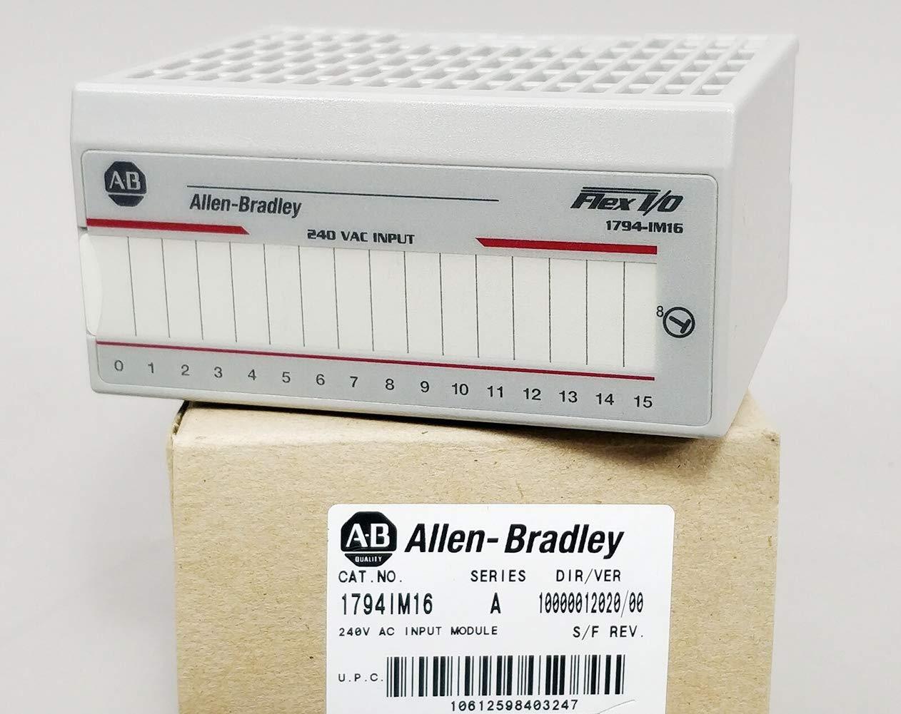 Allen Bradley 1794-IM16 A, 1794-IM16 SER.A, Flex 16 Point Digital Input Module