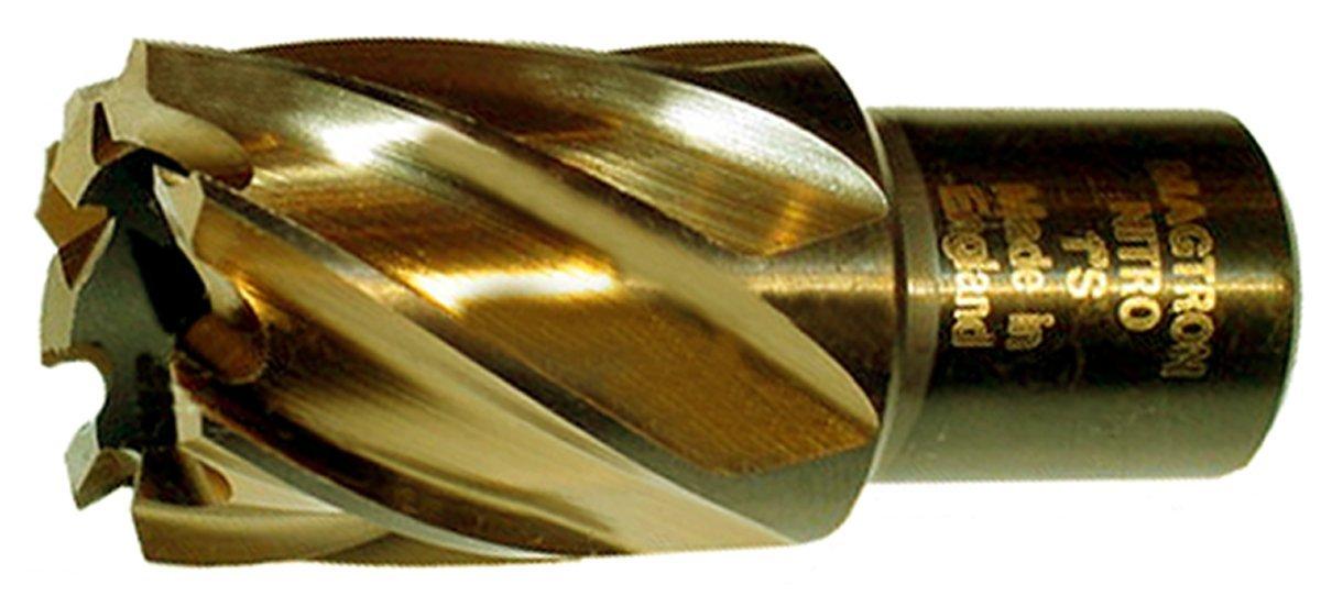 Drillco 9100N Series Annular Cutter, Cobalt Steel, Round Shank, 2