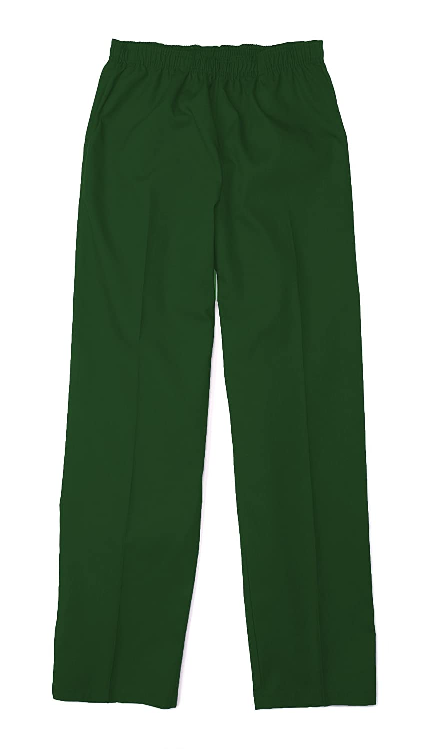 Pinnacle Textile SP63F 4.25 OZ 65/35 Polyester/Cotton, Female Elastic Waist Pant-X-Small-Hunter Green