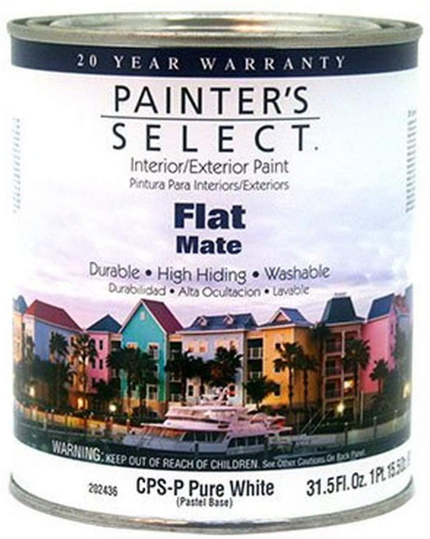 TRUE VALUE APPLICATORS CPSP-QT Quart Pastel Flat Paint