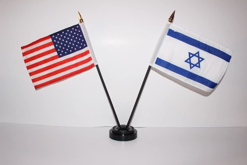 US USA American and Israel Israeli Star Of David Jewish 4