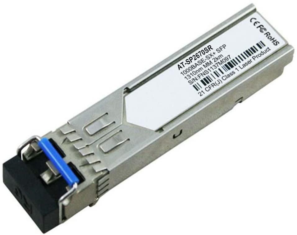 LODFIBER AT-SP2670SR Allied Telesis Compatible 1000BASE-LX SFP 1310nm 2km DOM Transceiver