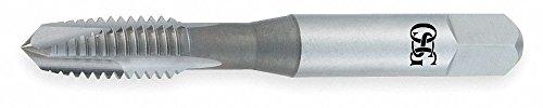 Spiral Point Tap, Plug, Steam Oxide, 4-40