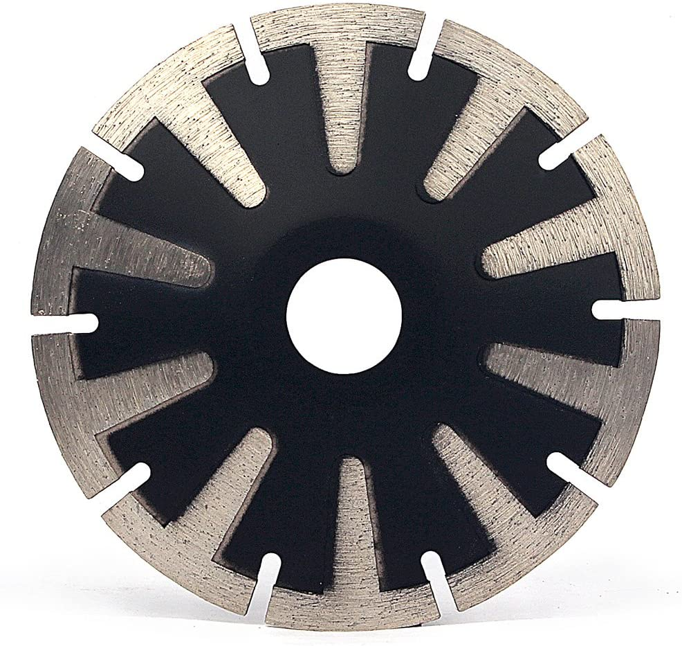 5 Inch Convex Concave Diamond Saw Blade for Granite Marble Concrete Sink Curved Cutting