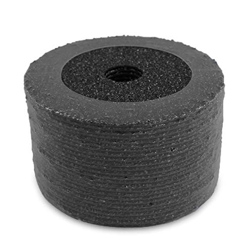 """BHA Silicon Carbide Resin Fiber Sanding and Grinding Discs, 5"""" x 7/8"""" Arbor Hole - 25 Pack (60 Grit)"""