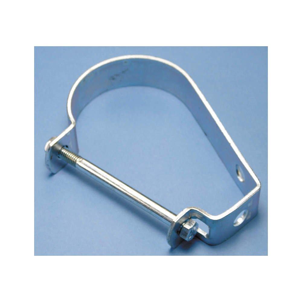 Loop Hanger, J, 5 In, Electro-Zinc Plated