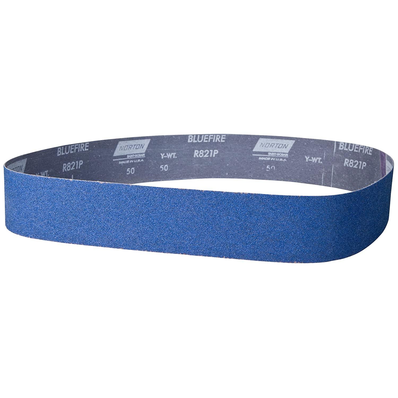 Sanding Belt, 1 In Wx42 In L, ZA, 40GR