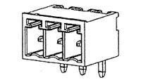 Pluggable Terminal Blocks HEADER 4P R/A 3.5MM (1 piece)
