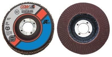 Flap Disc, A3 Aluminum Oxide, Regular - 4-1/2