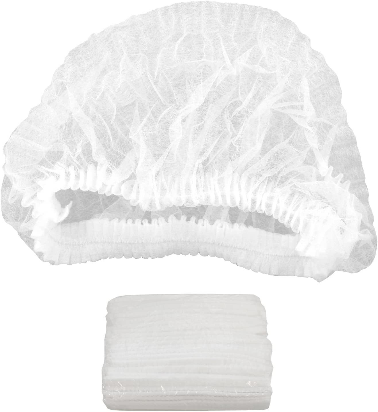 Belloccio TT-20H 100 Disposable Hair Net Caps: Sunless Spray Tanning, Salon, Spa, Food