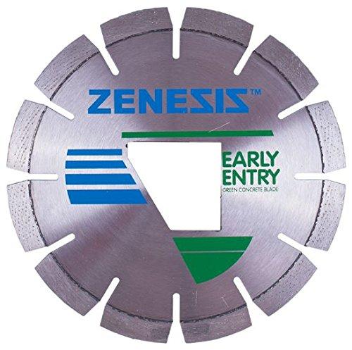 NED 100200ZEN13303EE 13-3/8 x .125 x EE ZENESIS 200-EZ Green Early Entry Blade, Green Spec