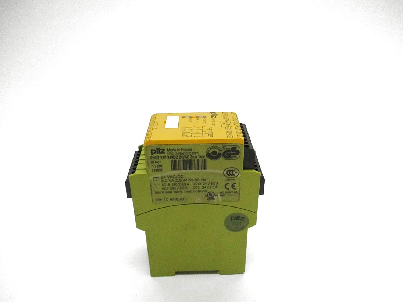 PILZ PNOZ-X3P-24VDC-24VAC-3N/O-1N/C-1SO 24VAC/DC 6A UNMP