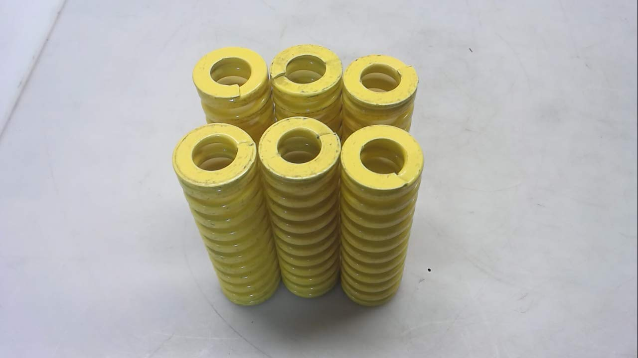 Raymond 306-416-D - Pack of 6 - Yellow Die Spring, 3/4 Hole Diameter 306-416-D - Pack of 6 -
