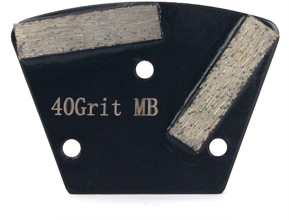 Trapezoid Metal Bond Floor Grinding Disc Grit 40 for Concrete Abrasive