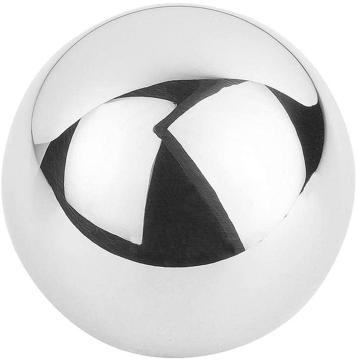 KIPP – Control Parts à Standard Elements K0650.140104.20 K0650 Ball Knob Handles & Buttons, Silver