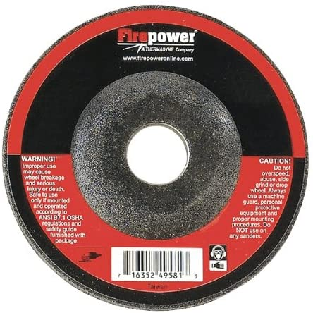 Thermadyne Firepower 1423-2232 Depressed Center Grinding Wheel
