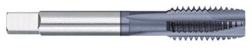 Titan TT97160 Predator High Vanadium Powdered Metal Spiral Point Plug Tap, ALTIN Coated, 5/16