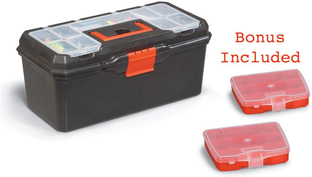 Toolbox for Toys, Jewelry, Art, and Fishing Gear 16