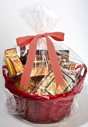 ClearBags 14 x 24 Large Holiday Gift Basket Bags | Perfect for Christmas Parties Gift and Food Baskets | Clear Cello Gift Bag with Large Round Bottom | Food Safe Materials | RB1424 (Pack of 100)