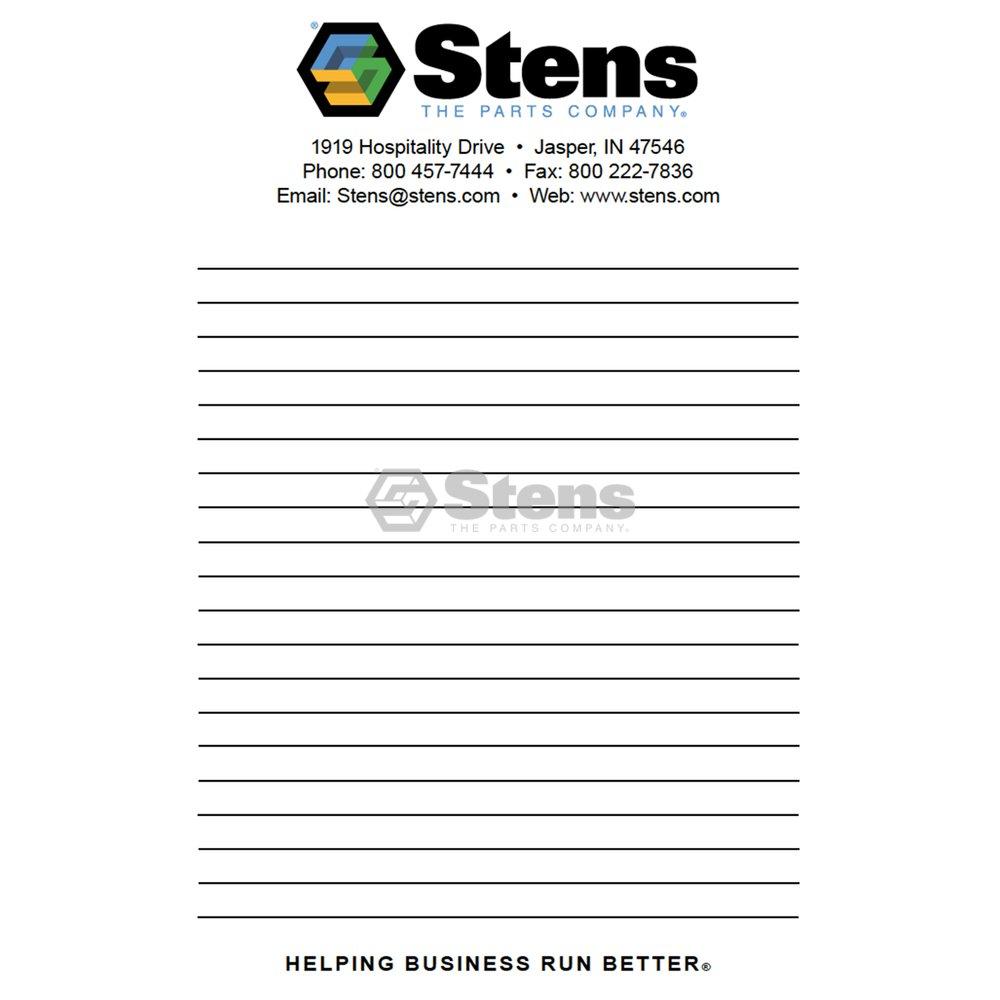 Stens 051-139 Stens Notepad