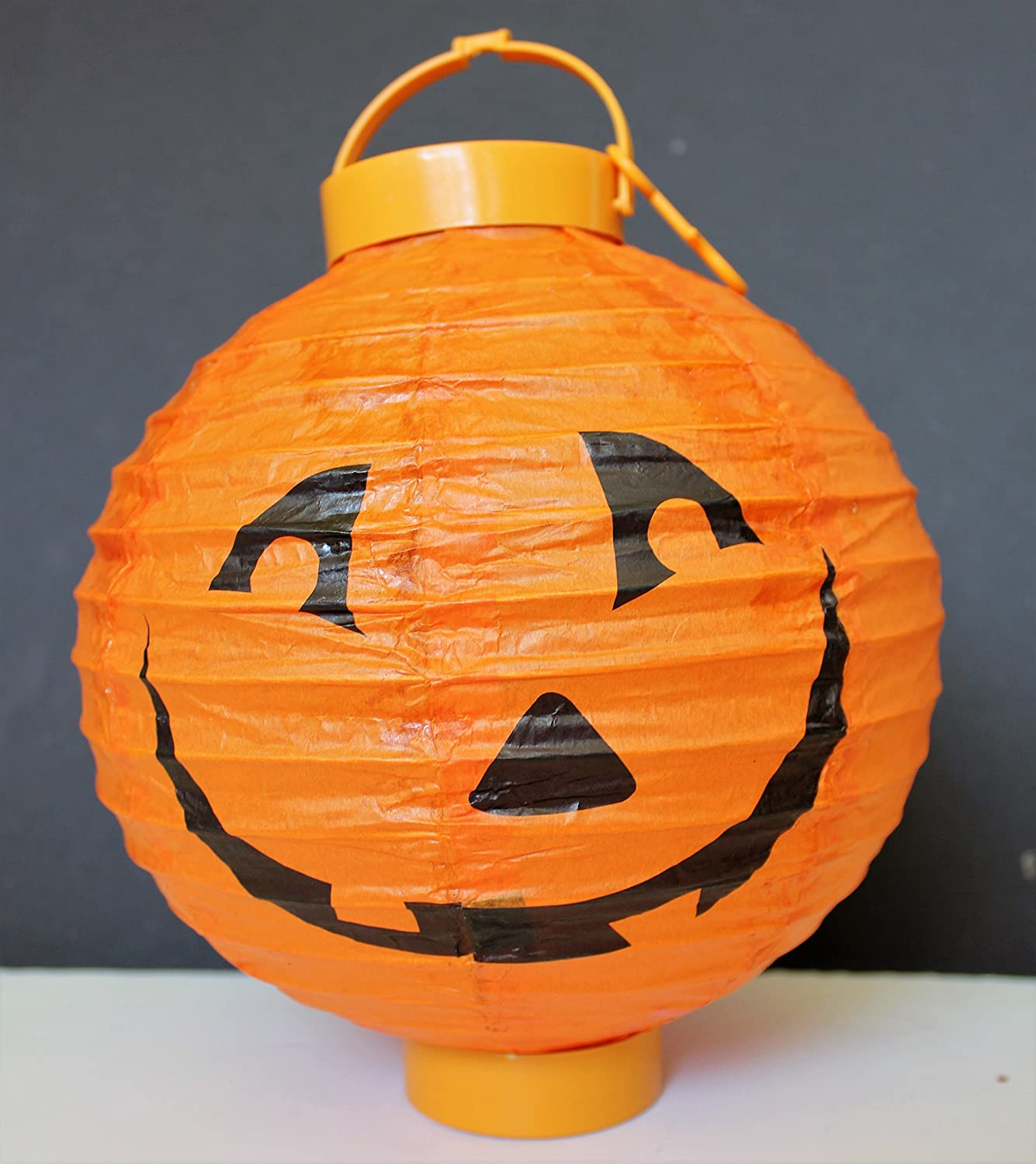 Battery-operated, Pumpkin Chinese/japanese Paper Lanterns 8