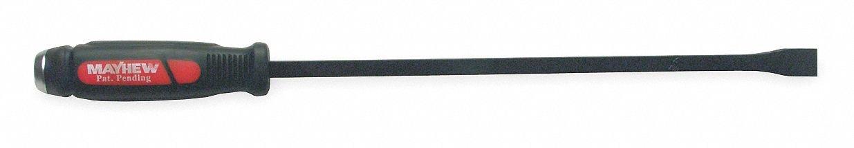 Pry Bars, 17 In. L, 1-1/2 In. W, Black